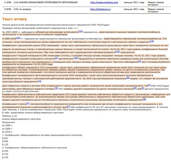 Блог компании ДипломТайм diplomtime Проверка текста на  В том что система благодаря разработкам наших российских математиков создавших уникальный алгоритм умеет указывать фрагменты заимствованного текста